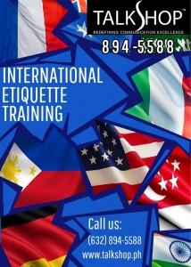 TalkShop International Etiquette