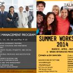 TalkShop Executive Management Program Summer Workshop