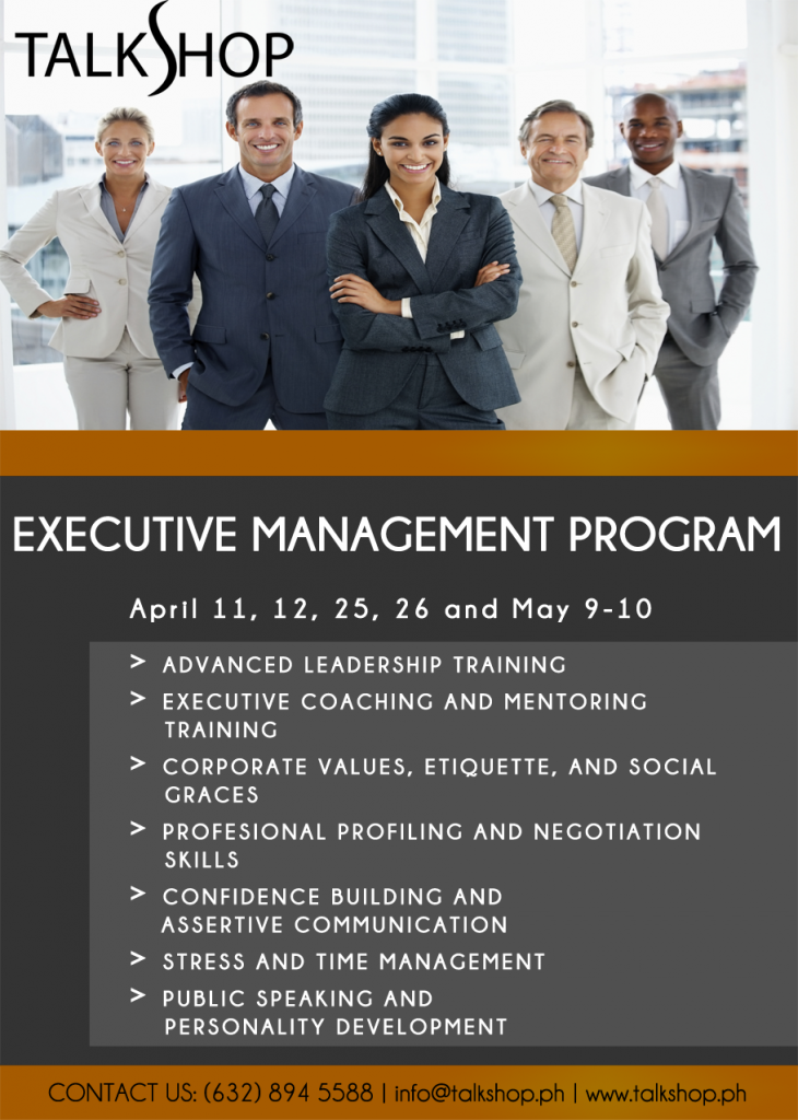 TalkShop Executive Management Program