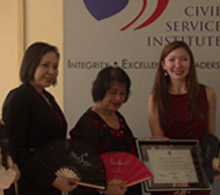 Civil Service Commission Awards TalkShop