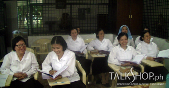 Carmelite Monks Get TalkShop Communication Training