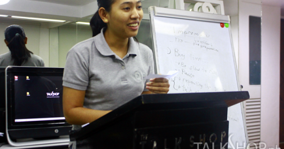 AIM-MDM Students Attend the Tuesday Talkmasters @ TalkShop