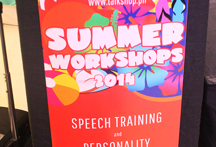 Summer WorkShop Preview – TalkShop 2014