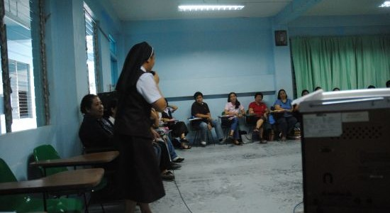 Teaching the Educators and Sisters of Mt.Carmel Catholic School Teachers – Day 3