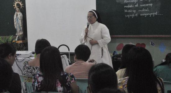 TalkShop Trains San Diego Parochial School – Day 1