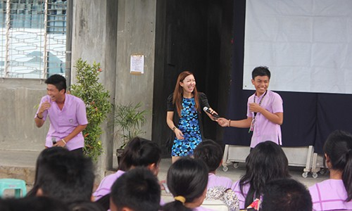 Talkshop Trains St. Dominic School on Social Graces, Etiquette, and Human Becoming