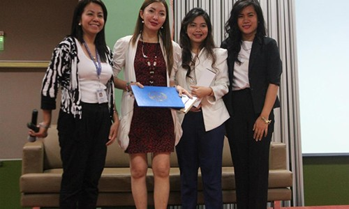 TalkShop Upgrades the Corporate Image of Makati Medical Students