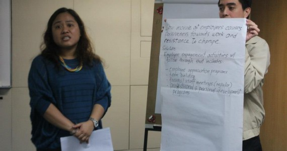 TalkShop Coaching and Mentoring for Philamlife AVPs and Managers
