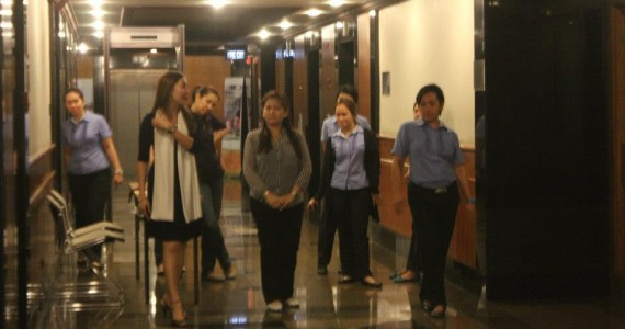 Makati City Government Executive Team Trains with Sheila Viesca