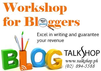Workshop for Bloggers