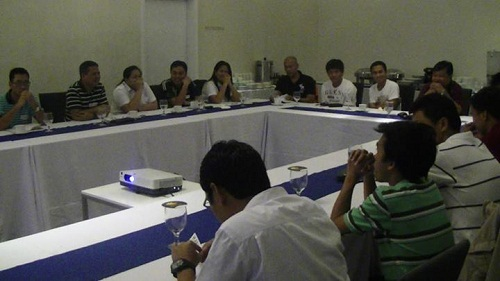 TalkShop Goes to Legaspi City to train Energy Development Corp