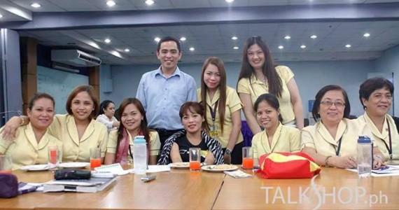 TalkShop Delivers Office Management Training for DOTC