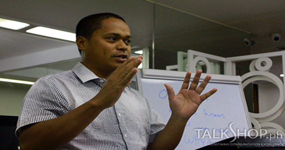 AIM Graduate Students Attend TalkShop's TalkMasters