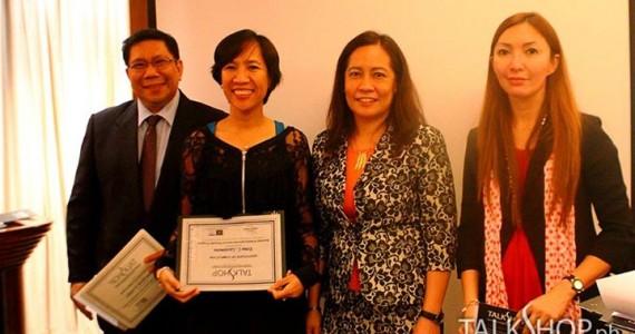 AWARDING OF TRAINING CERTIFICATES – 25 JULY 2014