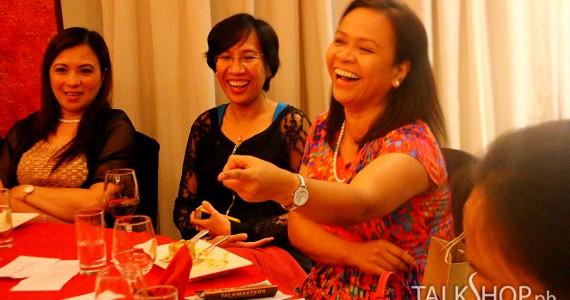 Speech, Wine, Toast, and Fine Dining
