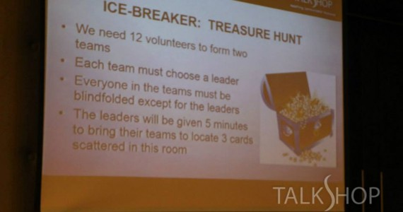 TalkShop Leadership Training – May 2015