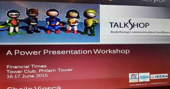 Power Presentation Workshop