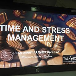 TIME AND STRESS MANAGEMENT WORKSHOP – 19-20 NOV 2015