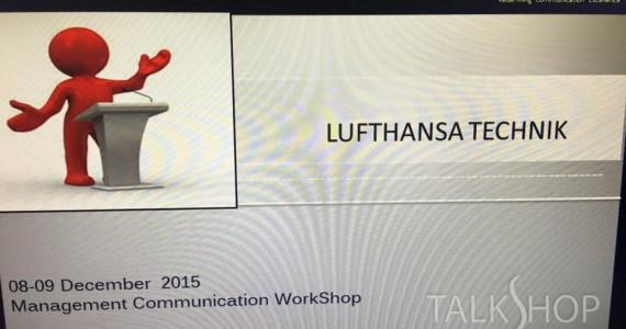 MANAGEMENT COMMUNICATION WORKSHOP 8-9 DEC 2015