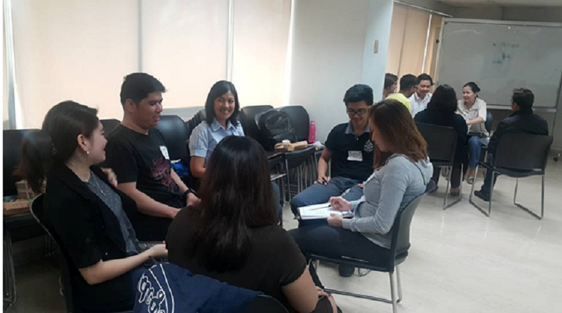 TalkShop Trains the Office of the President  Commission on Filipinos Overseas