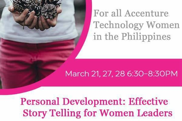 EMPOWERING WOMEN THRU STORYTELLING 29 MARCH 2017