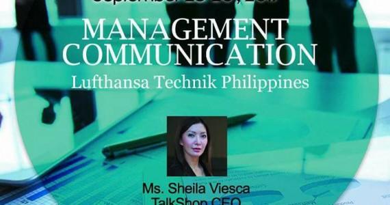 MANAGEMENT COMMUNICATION 25-26Sept17